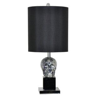 Inexpensive Belz Black Skull 27 Table Lamp By Mercer41