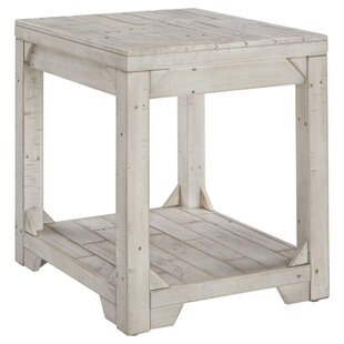 Best Review Ezio End Table By Highland Dunes