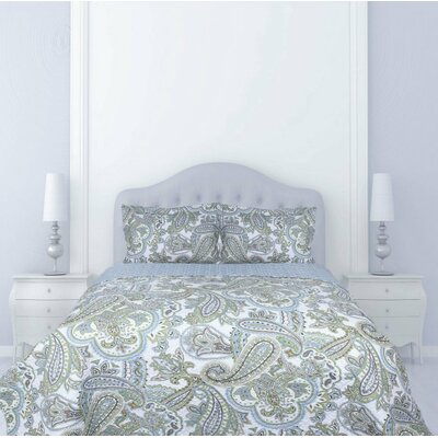 Darby Home Cocrain Paisley 3 Piece Reversible Coverlet Set Darby Home Co Size King Dailymail