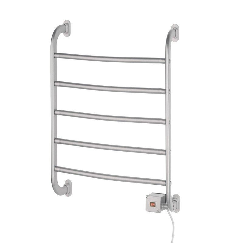 Jerdon Warmrails Regent Wall Mount Towel Warmer Rack Reviews Wayfair