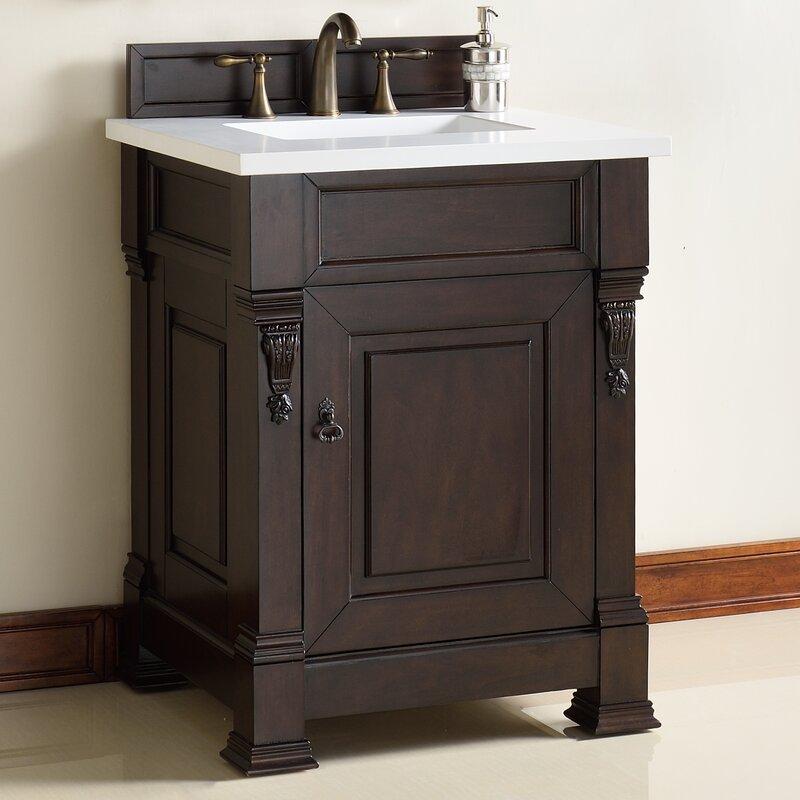 "James Martin Furniture Brookfield 26"" Single Bathroom Vanity Base Only   Wayfair"