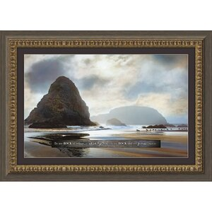 Be Thou My Rock Framed Photographic Print by Carpentree