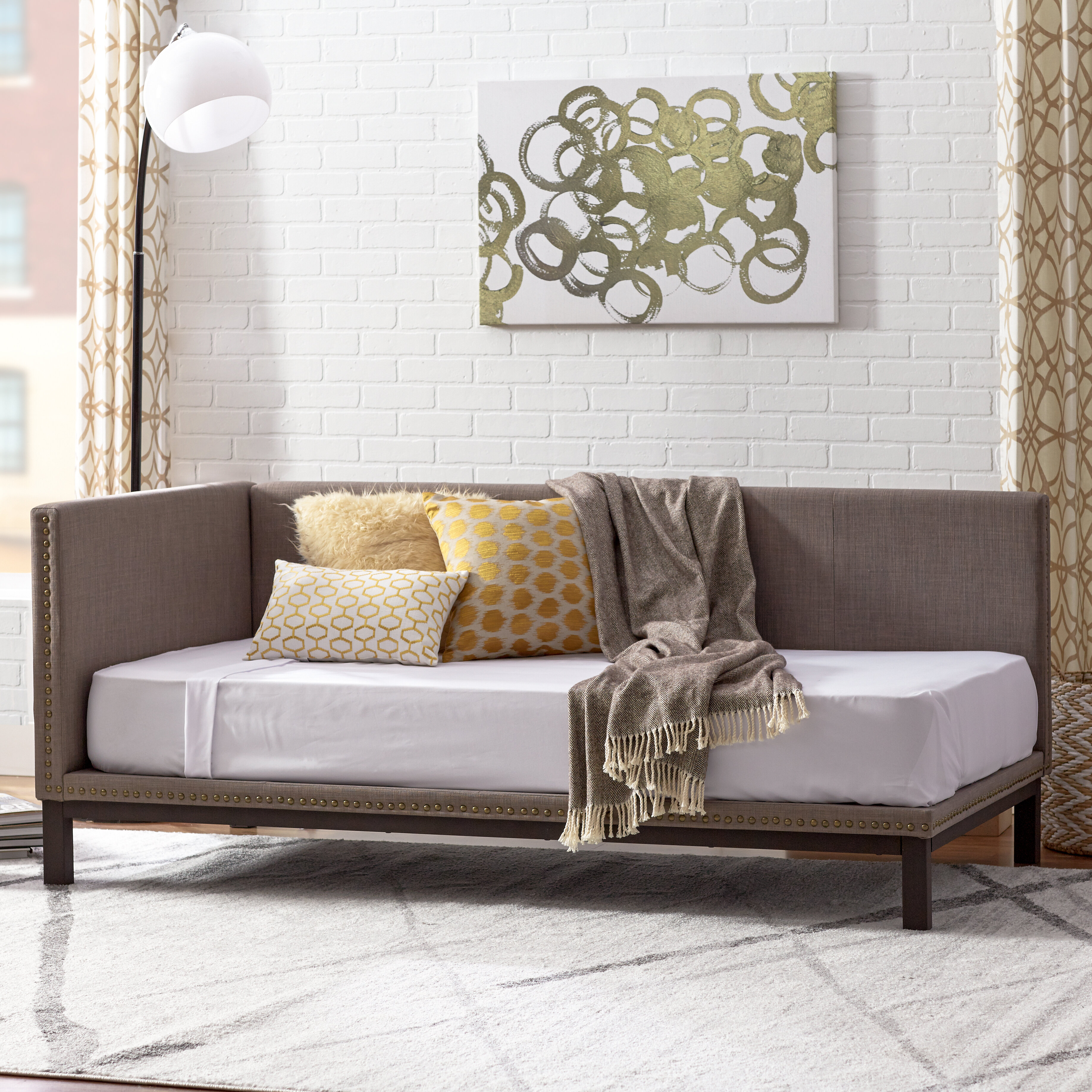 Astounding Carwile Mid Century Daybed Ocoug Best Dining Table And Chair Ideas Images Ocougorg