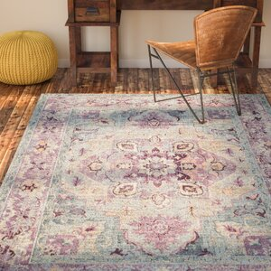 Norwood Grape/Blue Area Rug