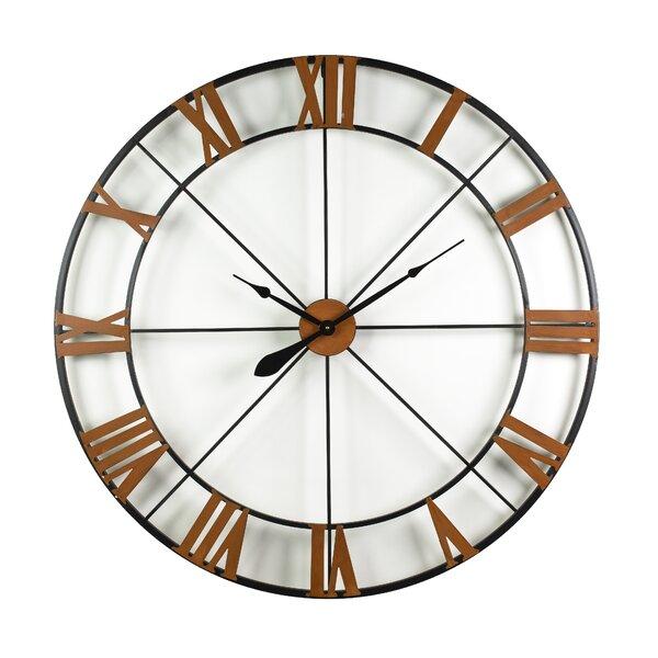 Large Black Wrought Iron Clock Wayfair