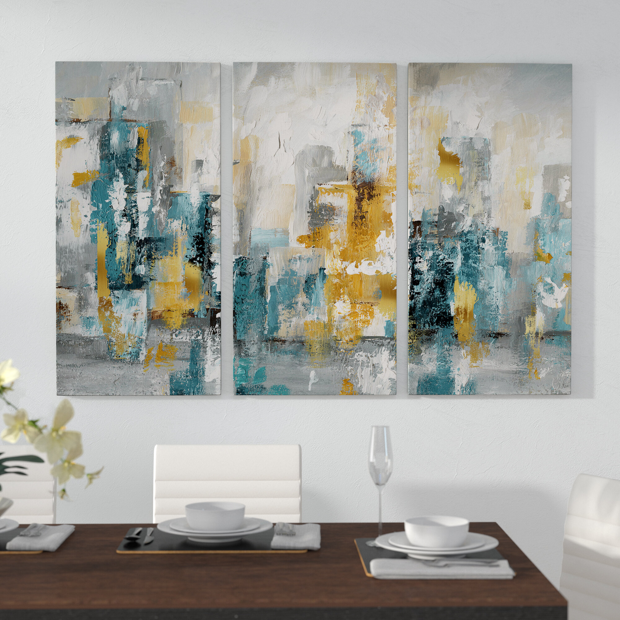 Large Modern Contemporary Wall Art You Ll Love In 2020 Wayfair