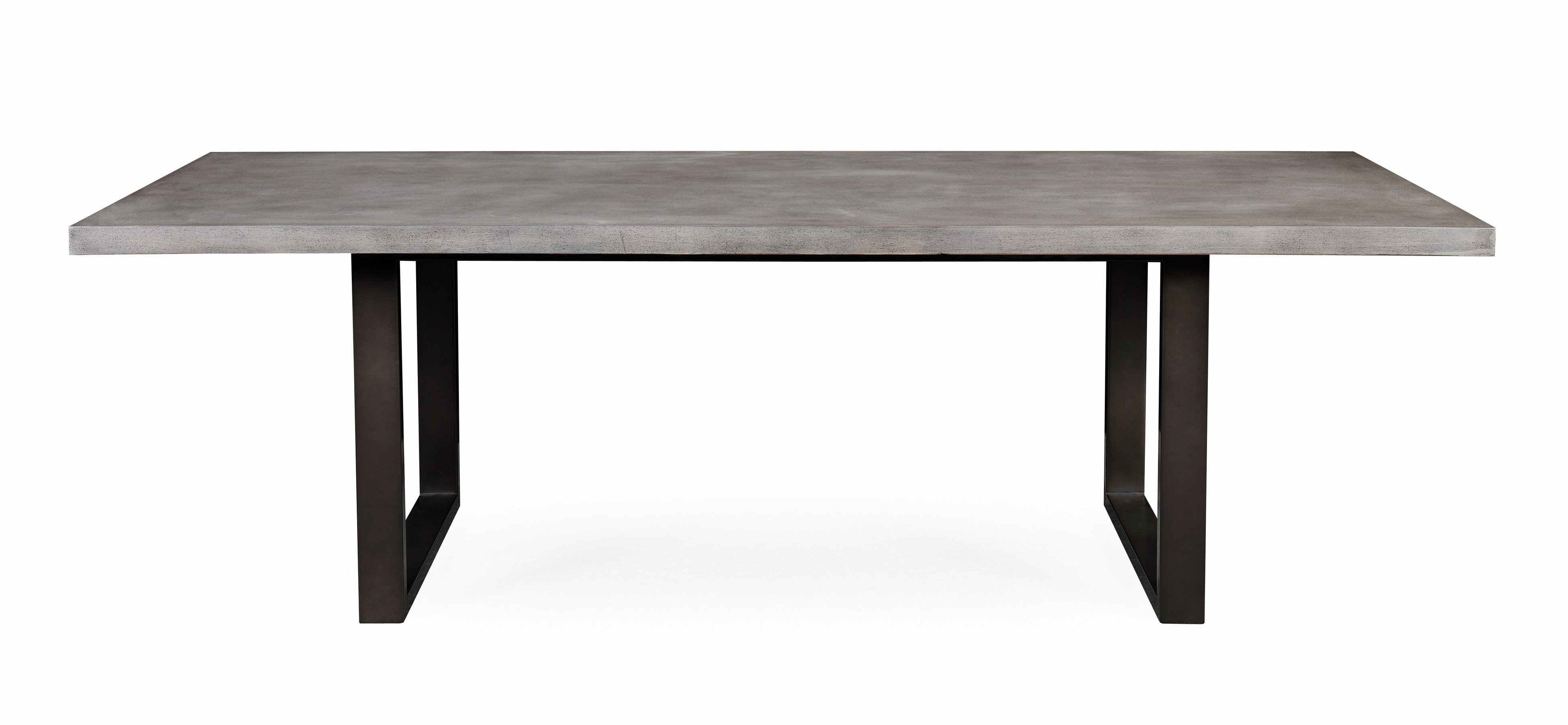 new style 72e7c 0bcaa Carnarvon Concrete Dining Table