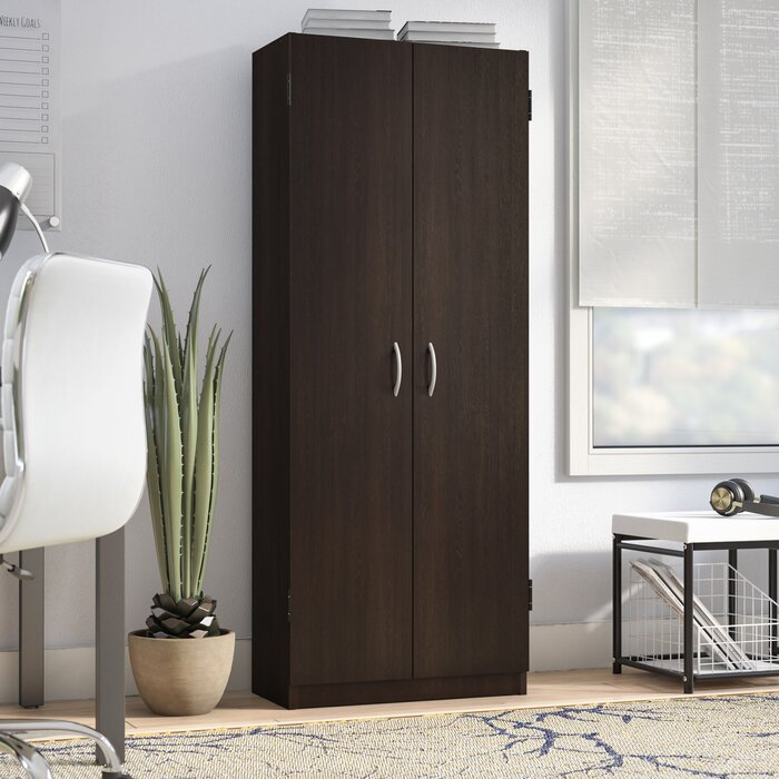 Ebern Designs Gwendoline 2 Door Storage Cabinet Reviews Wayfair