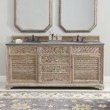 Ogallala 72 Double Bathroom Vanity Base Only byGreyleigh
