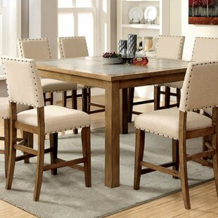 Inexpensive Wanda Industrial Counter Height Dining Table By Gracie Oaks