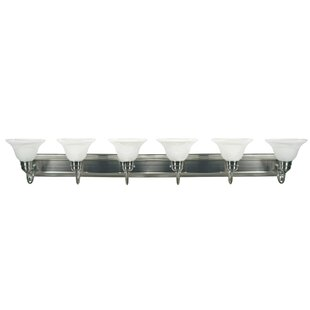 Best Quast 6-Light Vanity Light By Winston Porter