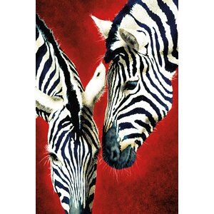 Affair by Will Bullas Painting Print on Wrapped Canvas by Portfolio Canvas Decor