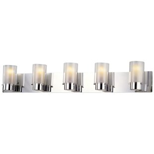 Buy luxury Sontag 5-Light Vanity Light By Latitude Run