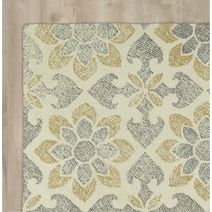 rosalind handtufted grayyellow area rug