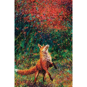 Iris Scott - 'Fox Fire' Print by East Urban Home