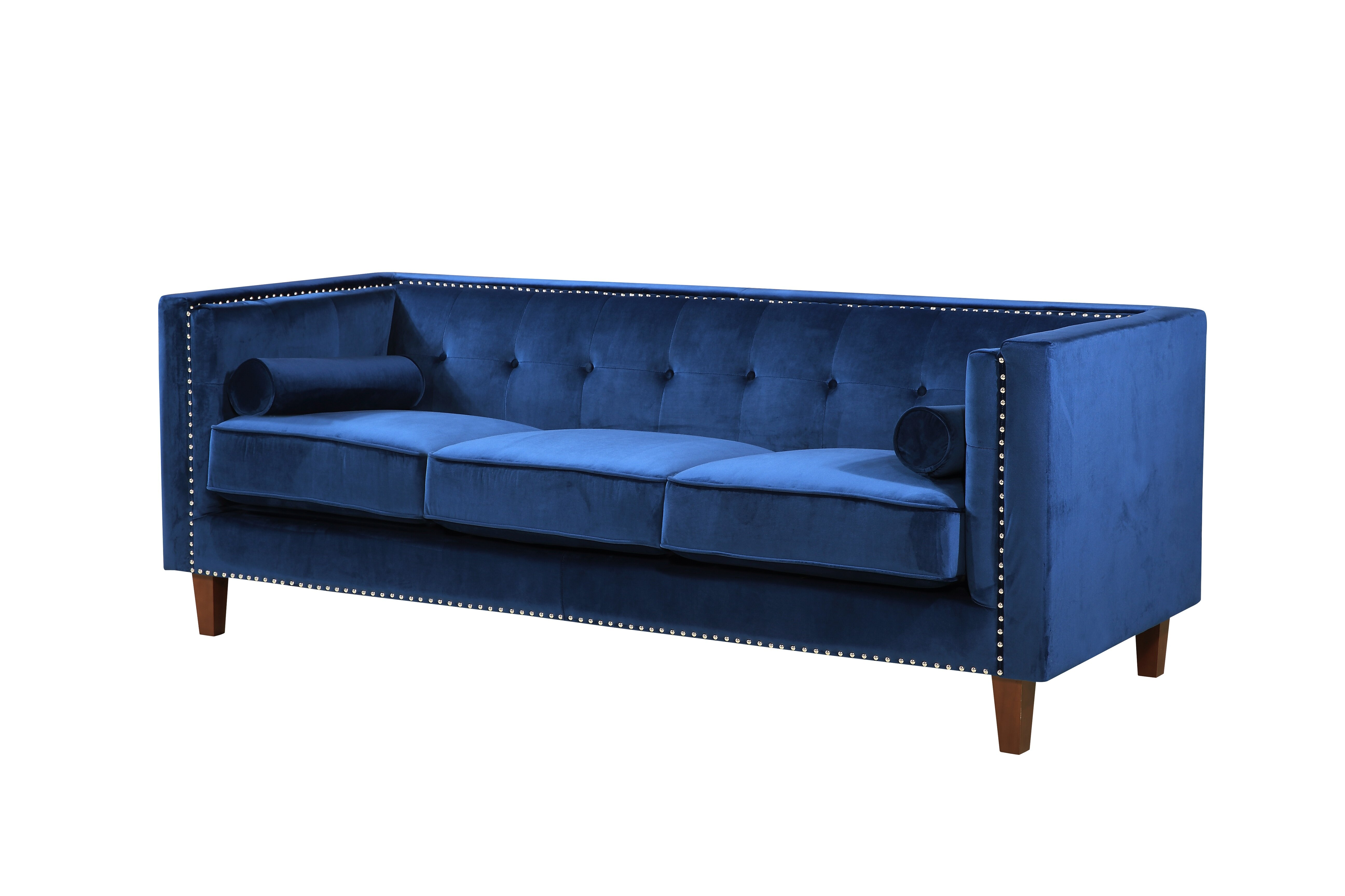 Kittleson Classic Nailhead Chesterfield Sofa