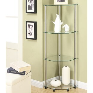 Beckett Corner Bookcase by Ebern Designs Great Reviews