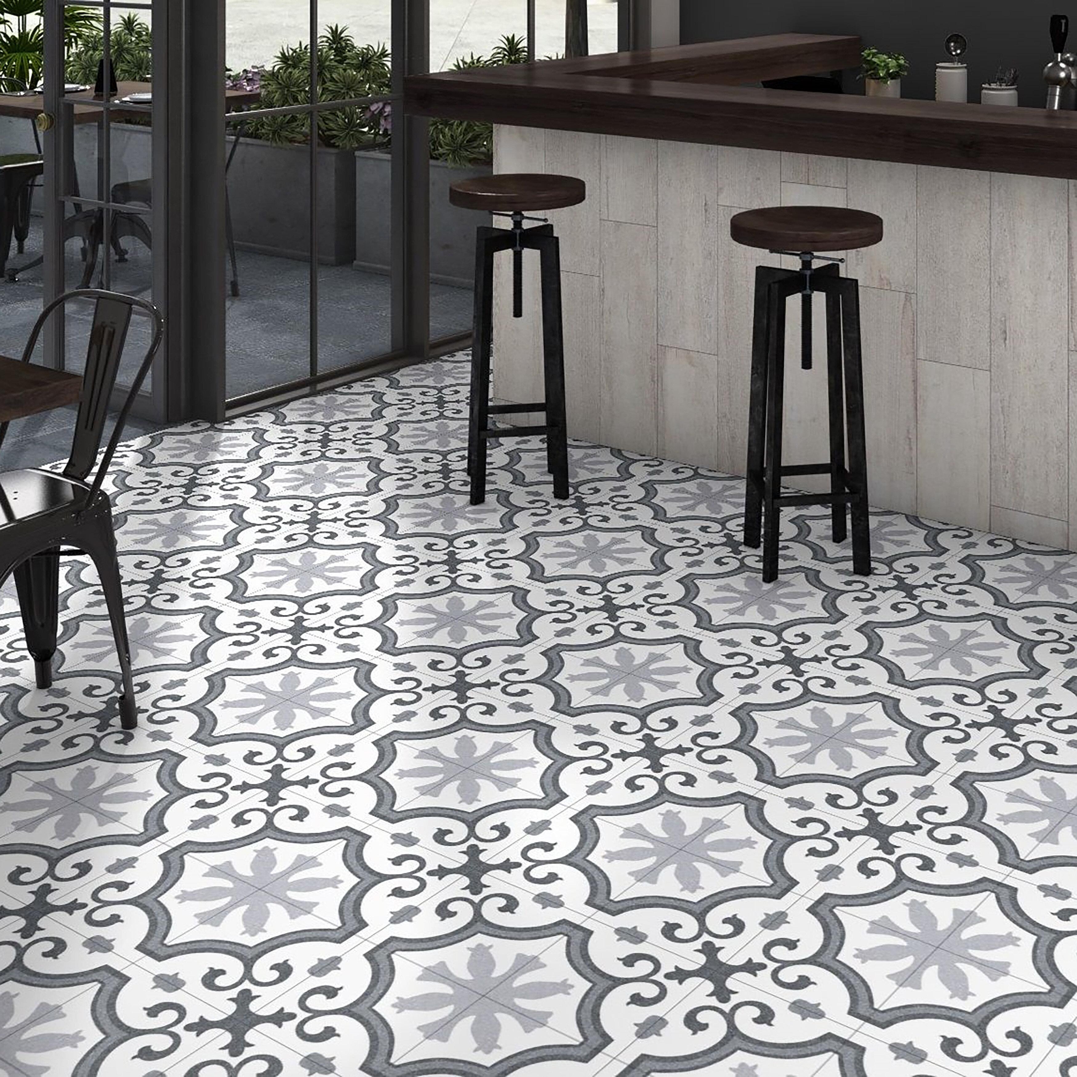 Find The Perfect Black Floor Tile Wayfair