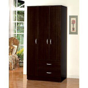 Pagel Wooden Wardrobe Armoire by Winston Porter