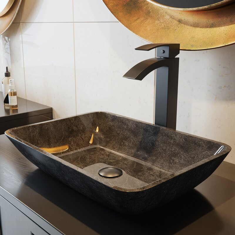 Duris Single Lever Vessel Bathroom Faucet