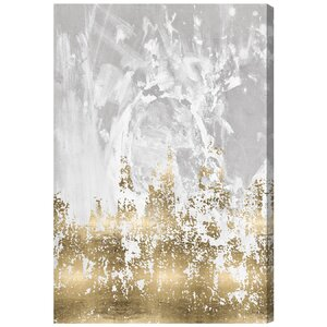 'Our Moment' Painting Print on Wrapped Canvas by Willa Arlo Interiors