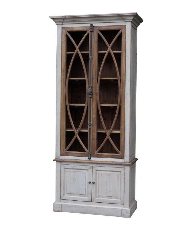garrity vitrine china cabinet