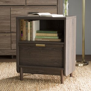 Broadridge 1 Drawer Nightstand by Willa Arlo Interiors