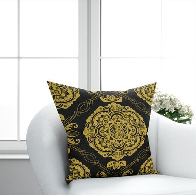 Sidibe Damask Throw Pillow