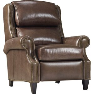Huss Leather Recliner by Bradington-Young