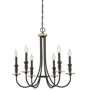 Price Check Mercado Indoor 6-Light Chandelier By Darby Home Co