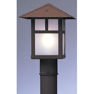 Reviews Evergreen Outdoor 1-Light Lantern Head By Arroyo Craftsman