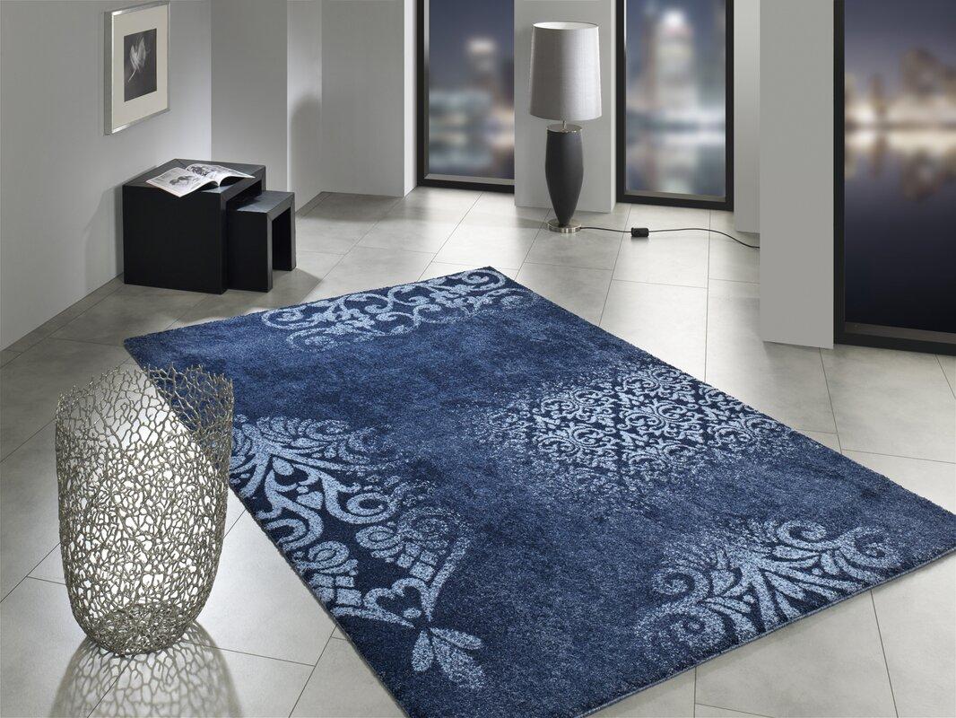 house additions teppich in blau bewertungen. Black Bedroom Furniture Sets. Home Design Ideas