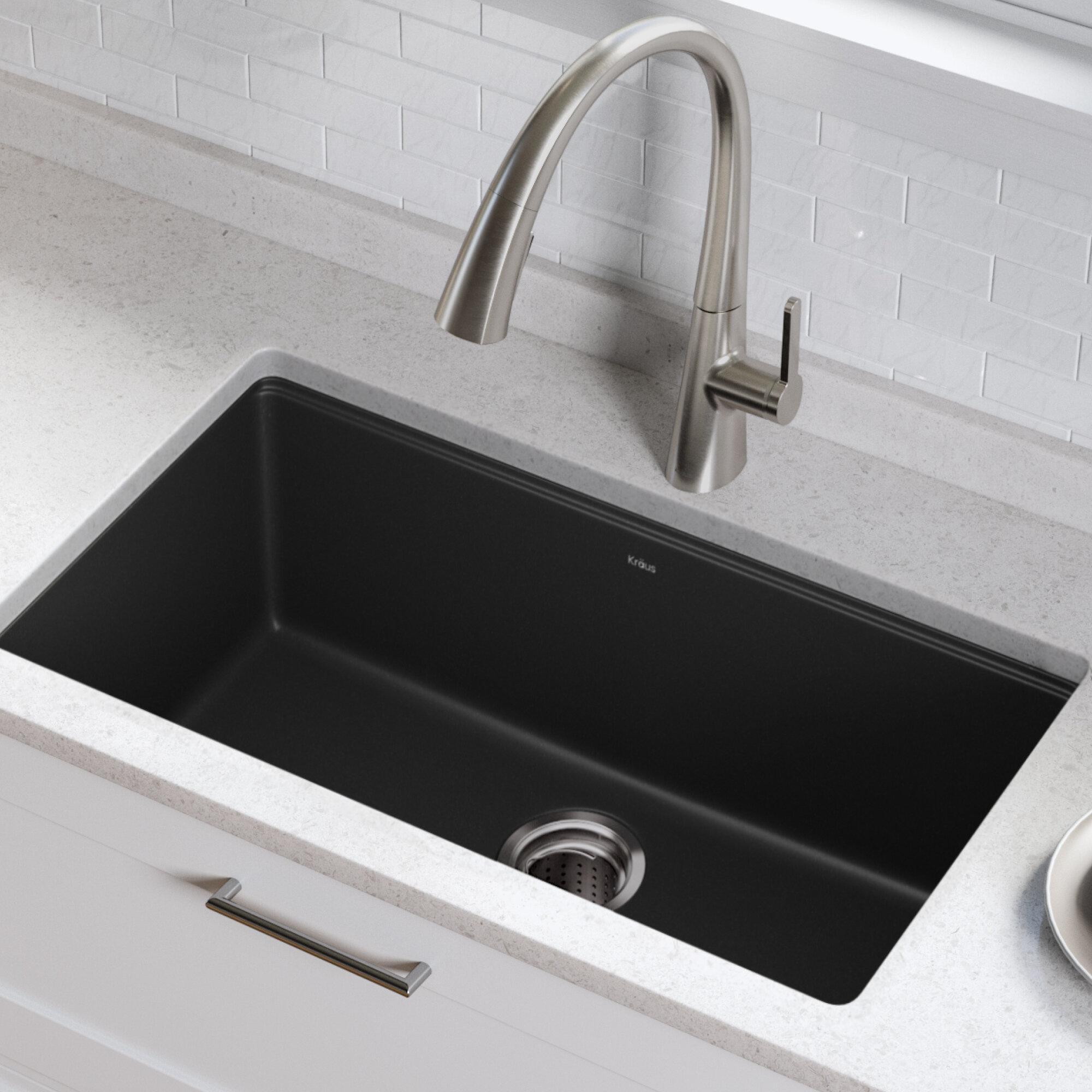 17 W Undermount Kitchen Sink