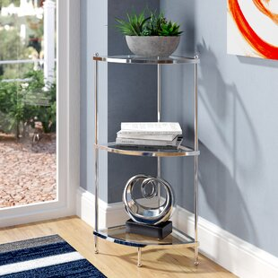 Stamford 3 Tier Corner Unit Bookcase