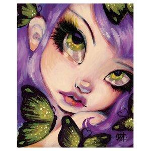 Eyed Violet by Natasha Wescoat Graphic Art by Prestige Art Studios
