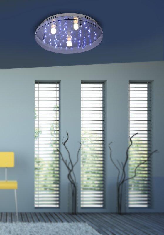 paul neuhaus deckenleuchte nightsky 2 bewertungen. Black Bedroom Furniture Sets. Home Design Ideas
