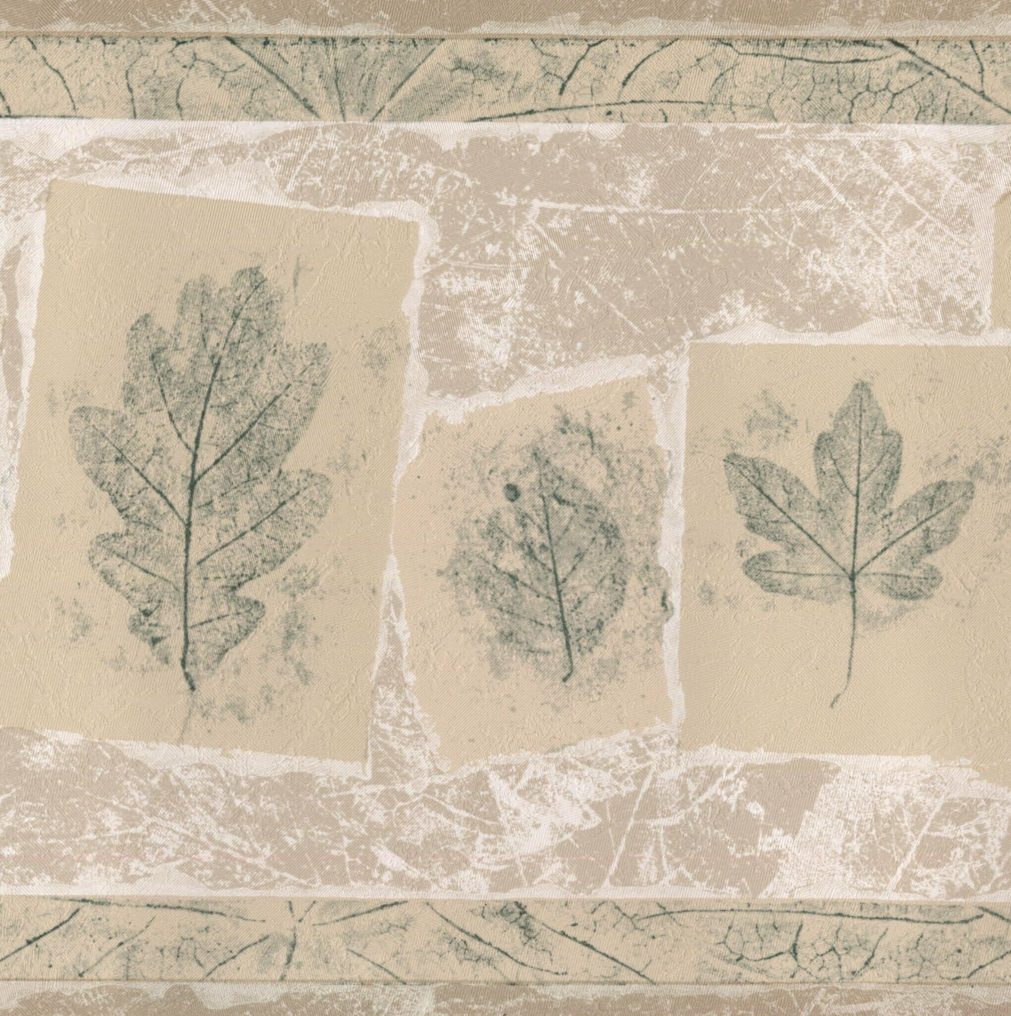Charlton Home Holland Sketched Leaves On Cards Vintage Retro