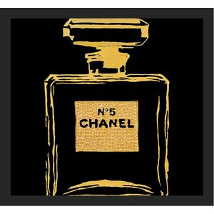 'Chanel No 5 Infinite' Framed Painting Print by Buy Art For Less