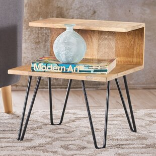 Find a Savner Wood Coffee Table with Tray Top ByUnion Rustic