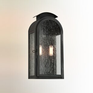 Best Nueva 2-Light Outdoor Flush Mount By Darby Home Co
