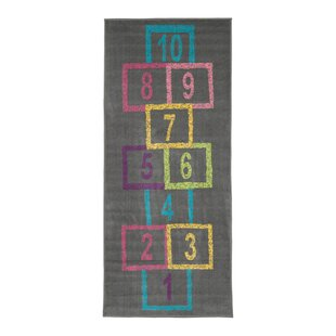 Savings Malik Educational Hopscotch Area Rug By Zoomie Kids