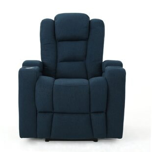 Deeann Power Recliner Red Barrel Studio