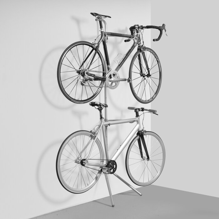 Wayfair Basics 2-Bike Freestanding Bike Rack