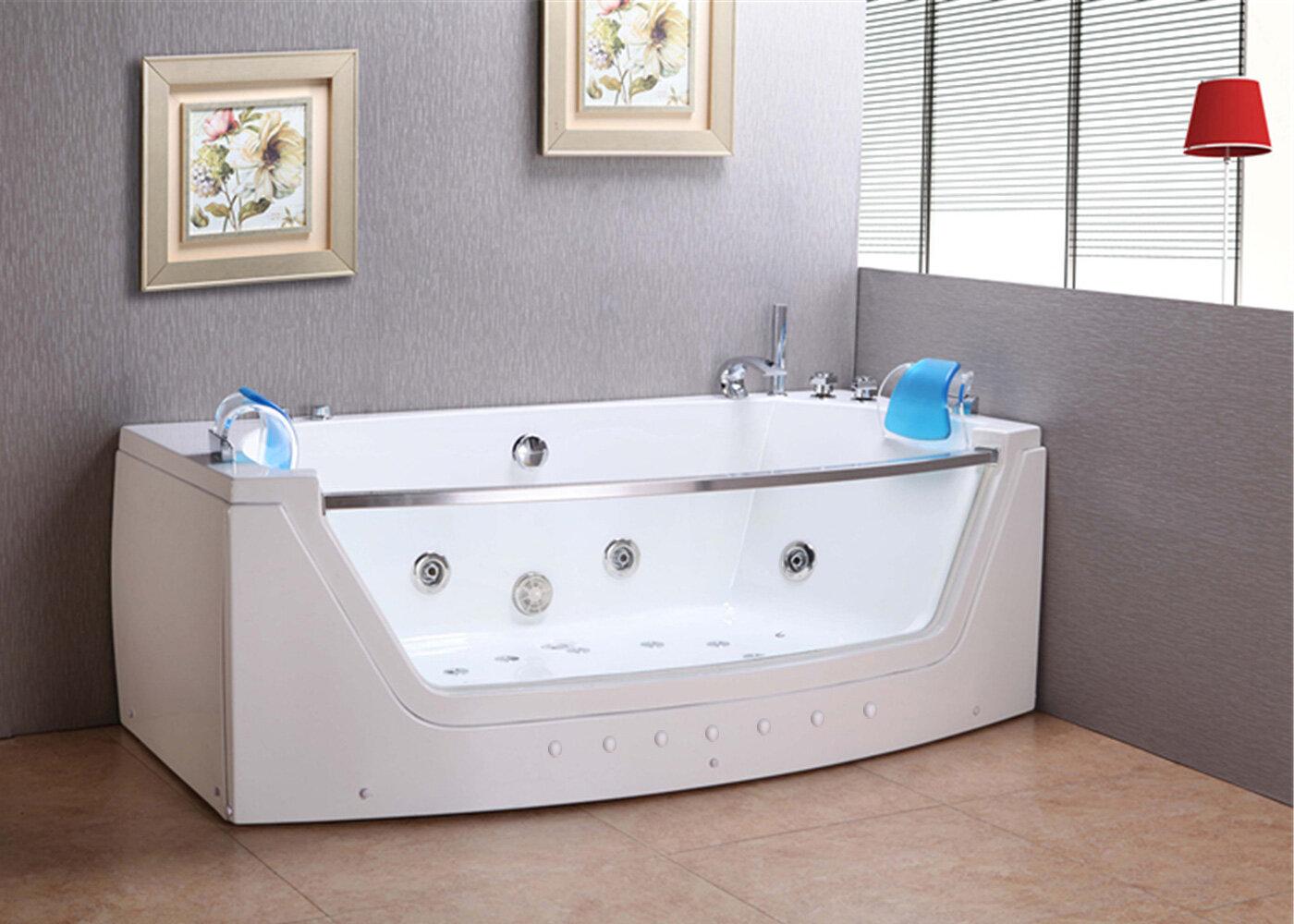 Jacuzzi Whirlpool Bath Jacuzzi.Massage Hot Tub Privilege Double Pump 71 X 35 Whirlpool Bathtub
