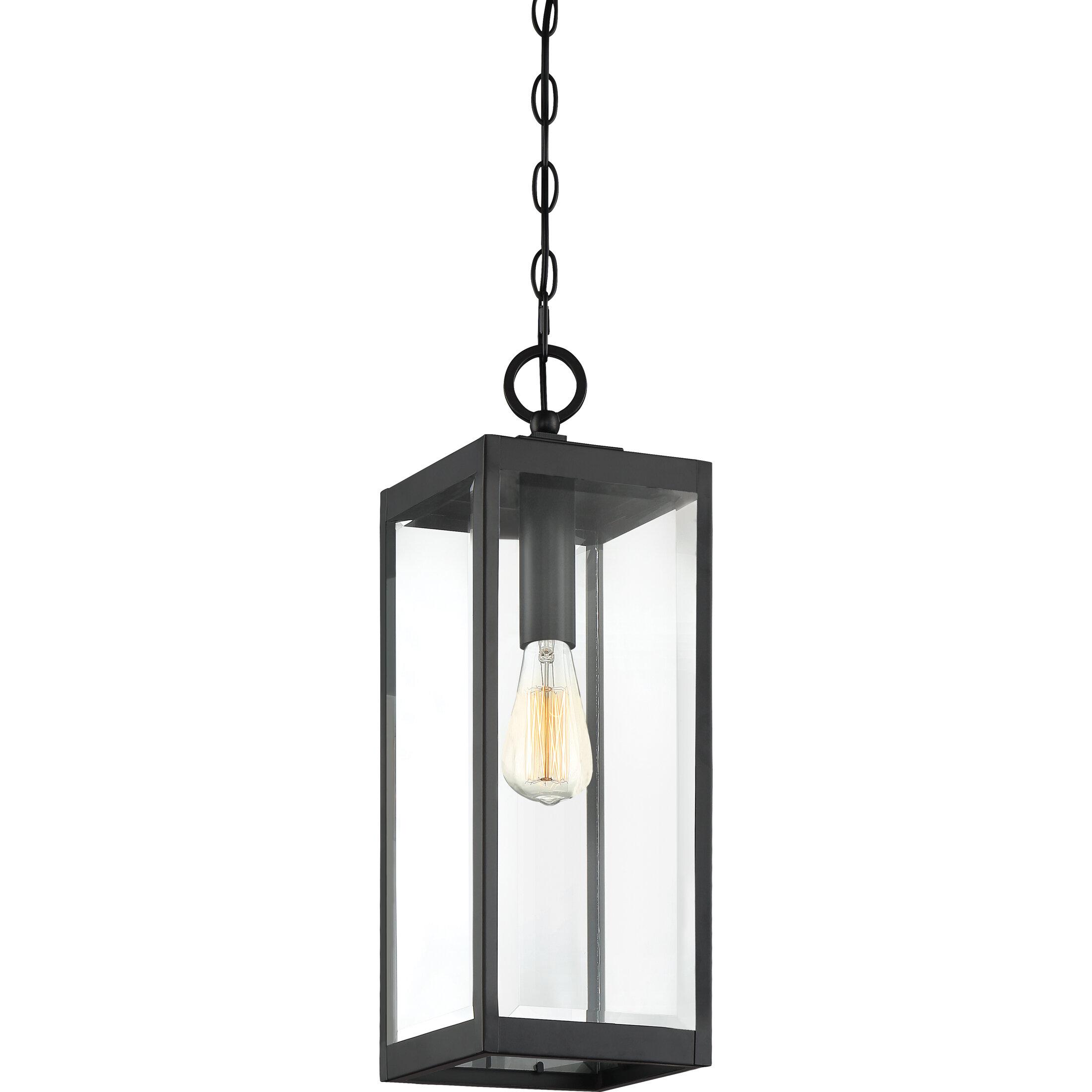 Exterior Pendant Light Fixtures Outdoor Hanging Lantern Black Front Entry Porch