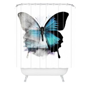 Emanuela Carratoni The Butterfly Shower Curtain ByEast Urban Home