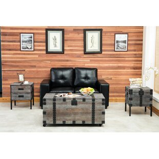 Review Rigina 3 Piece Coffee Table Set by 17 Stories