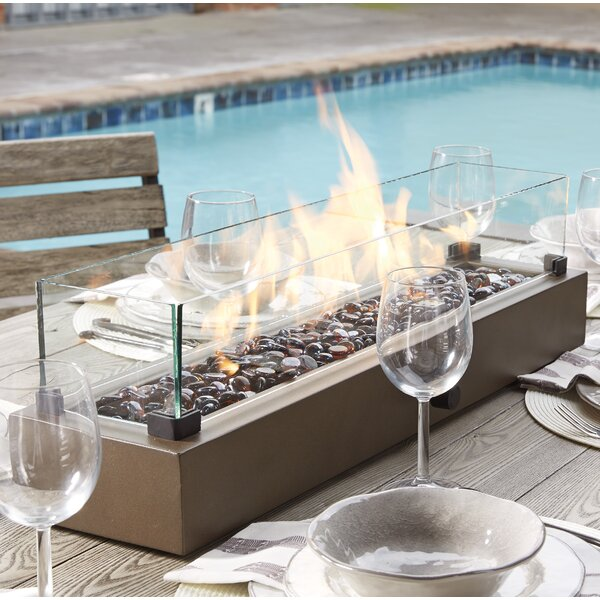 Signature Design By Ashley Hatchlands Propane Tabletop Fireplace U0026 Reviews  | Wayfair