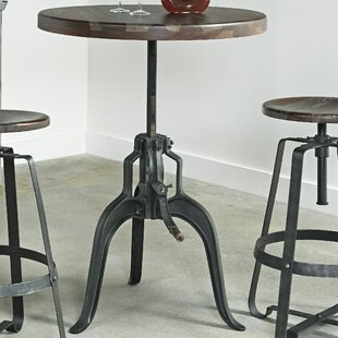 Shop For Evergreen Adjustable Pub Table By17 Stories