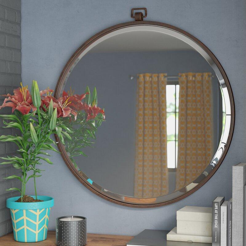 Langley Street Minerva Accent Mirror Amp Reviews Wayfair